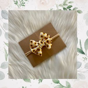 👑Sunflower Clip In or Bow on Nylon!